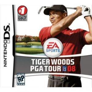 TIGER WOODS PGA TOUR 08 NINTENDO DS Game