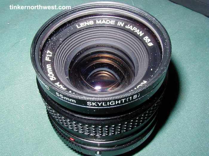 Konica Hexanon AR 50mm F1.7 Lens