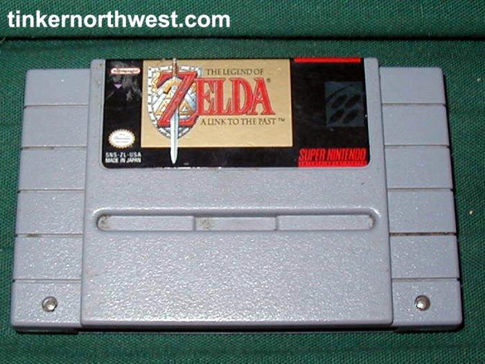 Zelda A Link To The Past Super Nintendo SNES Game