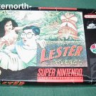 SNES SUPER NINTENDO VIDEO GAME Lester the Unlikely BOX
