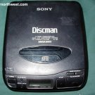 Sony CD Portable Player Discman D-33 Vintage