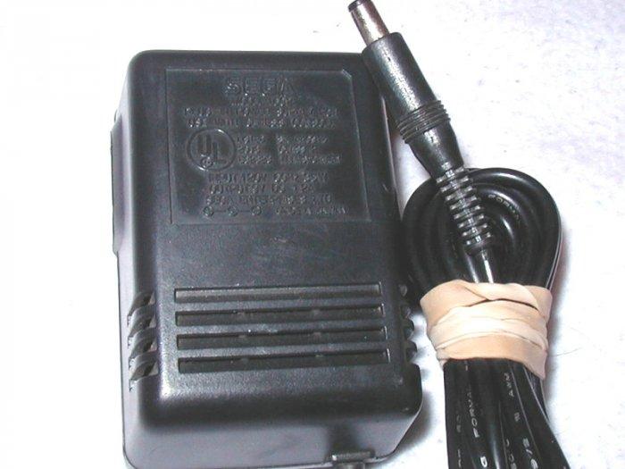 Genesis, Sega MK-1602 AC Adapter 9V DC, 1.2A