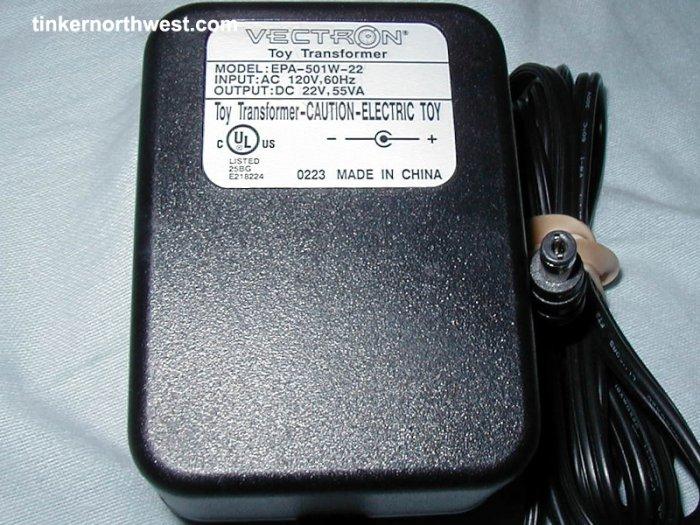EPA-501W-22 AC Power Adaptor Charger 22VDC 55VA
