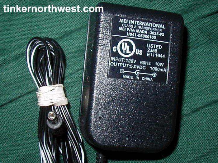 MEI MADA-3025-PS Palm 125 130 AC Adapter 180-0711