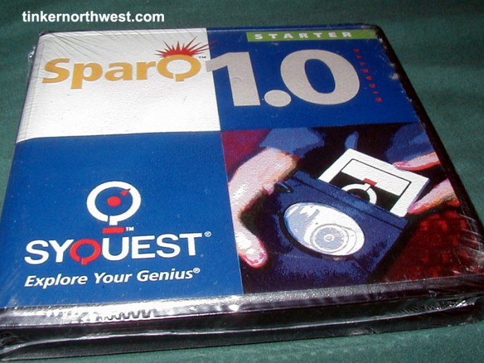 Syquest SparQ 1.0 PC IDE Drive Cartridge Formatted..