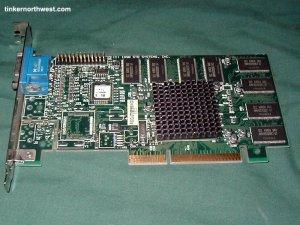 STB 1X0-0735-508 nVIDIA RIVA TNT 16MB AGP Video Card