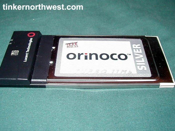 ORINOCO 11 Mb SILVER PC CARD 802.11b WiFi PCMCIA
