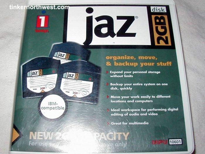 Iomega Jaz 2GB disk 2 GB Mac or PC format
