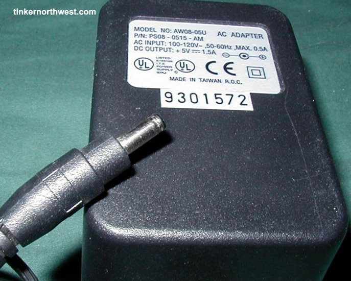 PS08-0515-AM Model AW08-05U AC Power Adapter 5VDC 1.5A