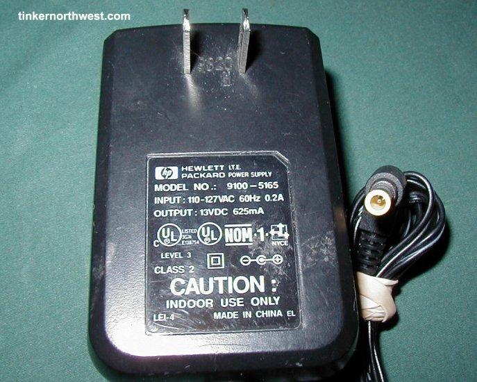 Hewlett Packard Model 9100-5165 Printer Power Supply