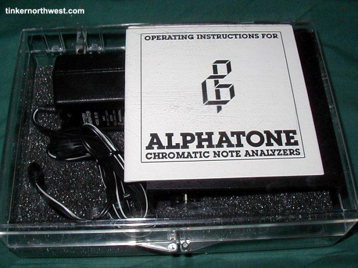 Alphatone 3 Chromatic Note Analyzer Tuner