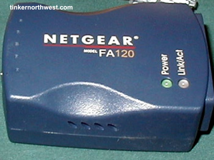 NETGEAR FA120 USB 2.0 to Fast Ethernet Adapter