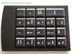 Y-312 Keyboard, 10 Key
