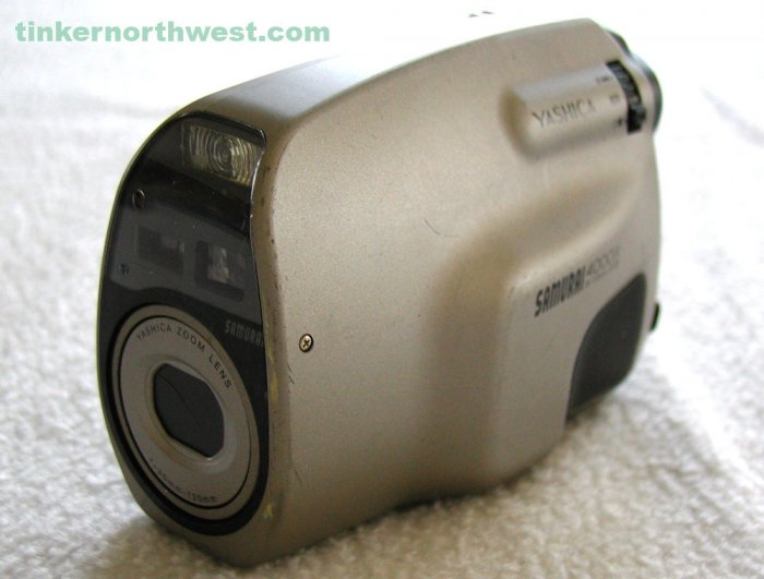 Yashica Profile 4000ix APS Film Camera Parts