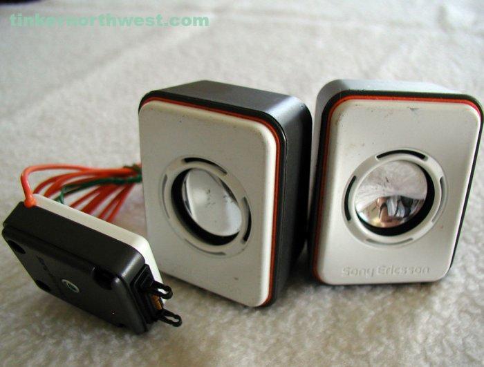 Sony Ericsson MPS-60 Portable Speakers