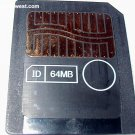 Smart Media SM 64MB Memory Card
