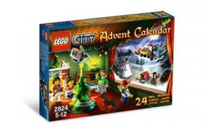 2010 LEGO® City Advent Calendar #2824