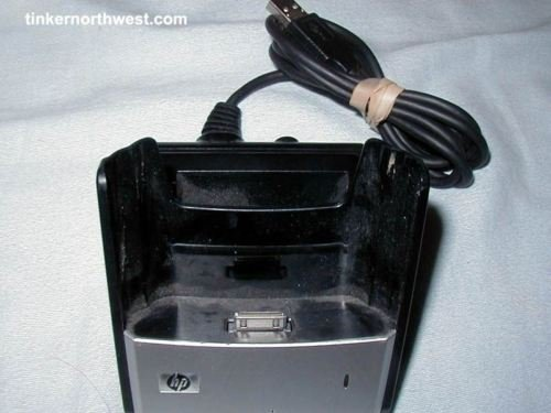 HP Cradle HSTNH-C01X USB Charger