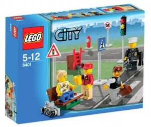LEGO City MiniFigure Collection 8401