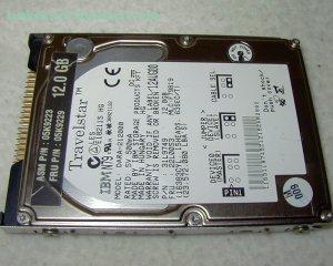 IBM TRAVELSTAR 12 GB ATA-33 Hard Drive 05K9229