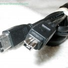 iLINK IEEE-1394 FireWire 400 Cable Black 4 Pin to 6 Pin