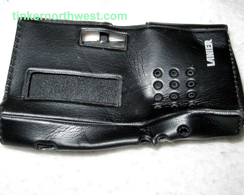 Lanier Micro Cassette Player Case for P-134
