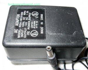 RGA-48101500 AC Power Adapter 10VAC 1.5A