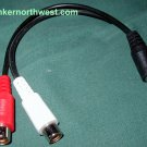 Y Splitter 3.5mm MiniJack to Stereo RCA Audio Cable