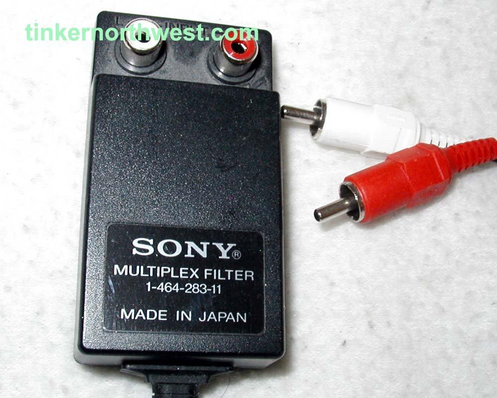 1-464-283-11 Sony Multiplex Filter