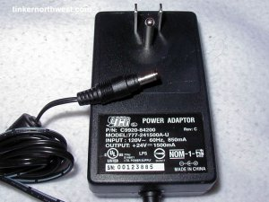 HP Scanjet AC Power Adapter C9920-84200 777-241500A-U