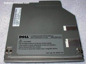 Dell CD-RW/DVD-ROM Drive 8W007-A01 D500 D600 D800 8500