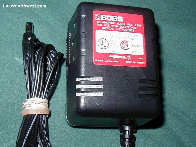 PSA-120T AC Power Adapter 4 Boss Metal Zone MT-2 Pedal