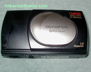 Olympus Camedia Brio Zoom D-150 Digital Camera