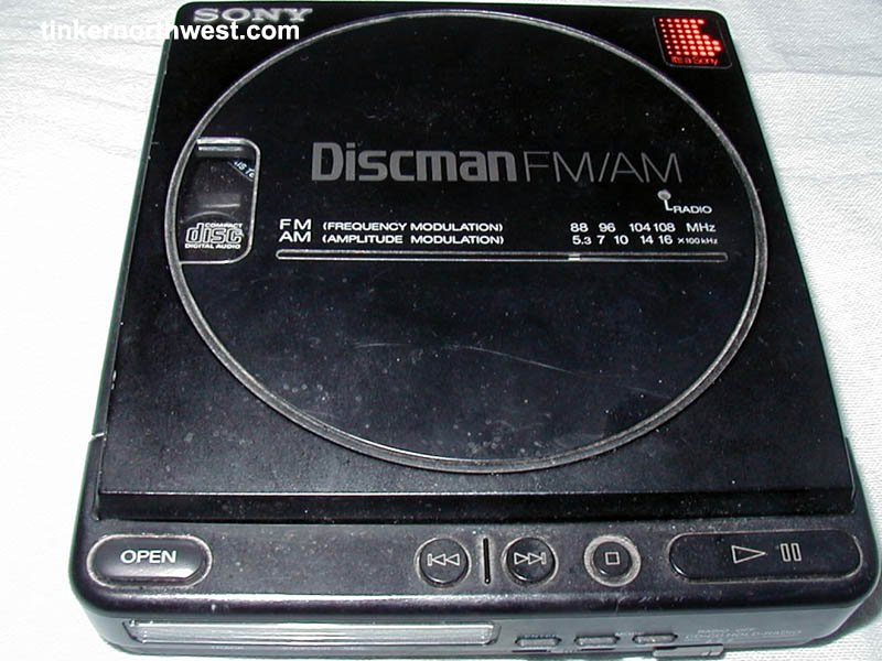 Sony D T4 Portable Discman Portable Vintage Cd Player