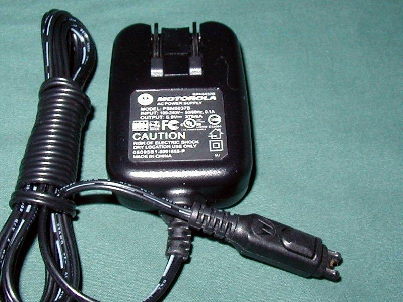 Motorola Wall Charger PSM5037B v60 t720 t730 v710 v525