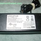 Creative XKD-Z2500NHS15.0-II AC Power Adapter 15VSC 2.5A Supply