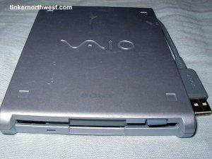 Sony PCGA-UFD5 VAIO USB Floppy Drive