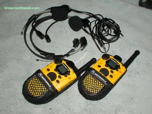 Motorola Talkabout 250, Walkie Talkie, 2 mile, Two Way Radio Set