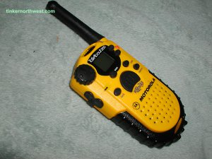 Motorola Talkabout 250, Walkie Talkie, 2 mile, Two Way Radio Yellow