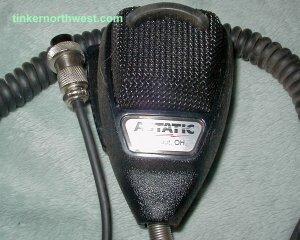 Astatic 636L Noise Canceling Mic CB Radio 4 pin Cobra