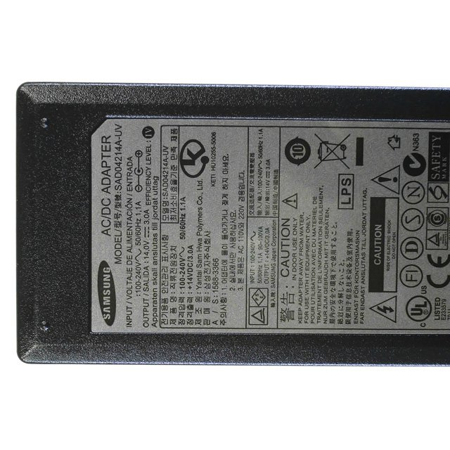 Samsung SAD04214A-UV AC Power Adapter 14VDC 3.0A Supply