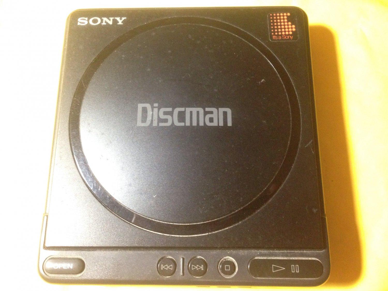 Sony D-4 Portable Discman Portable Vintage CD Player
