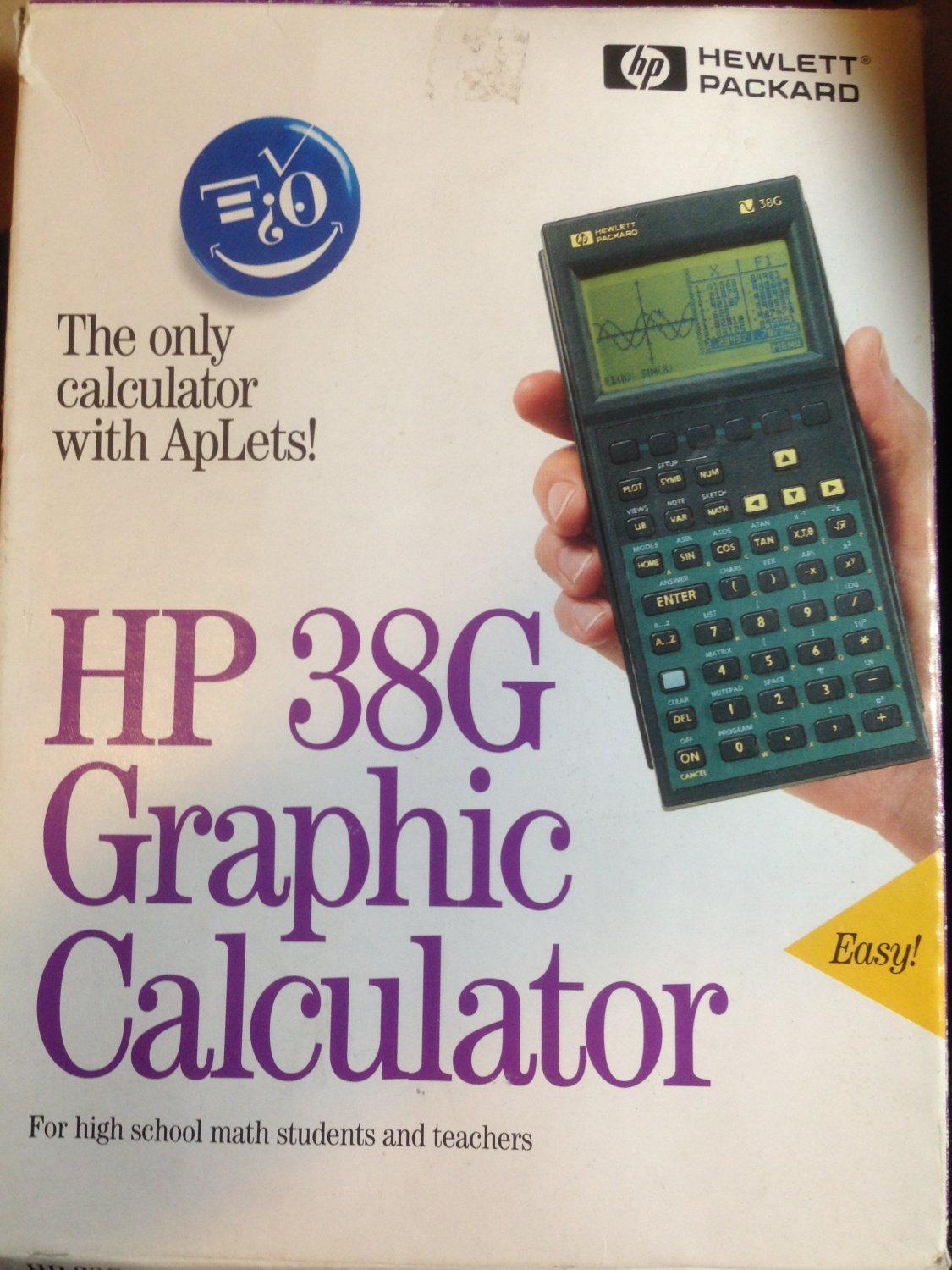 HP 38G Graphing Calculator Math Science