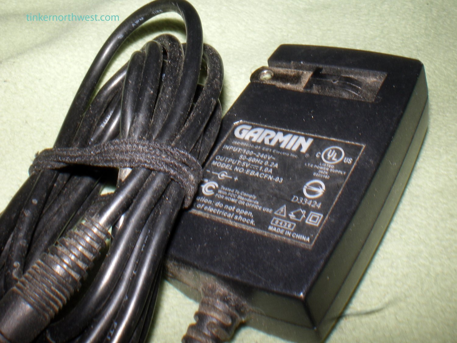 Garmin EBACFN-03 AC Power Adapter 5V 1A Supply for GPS