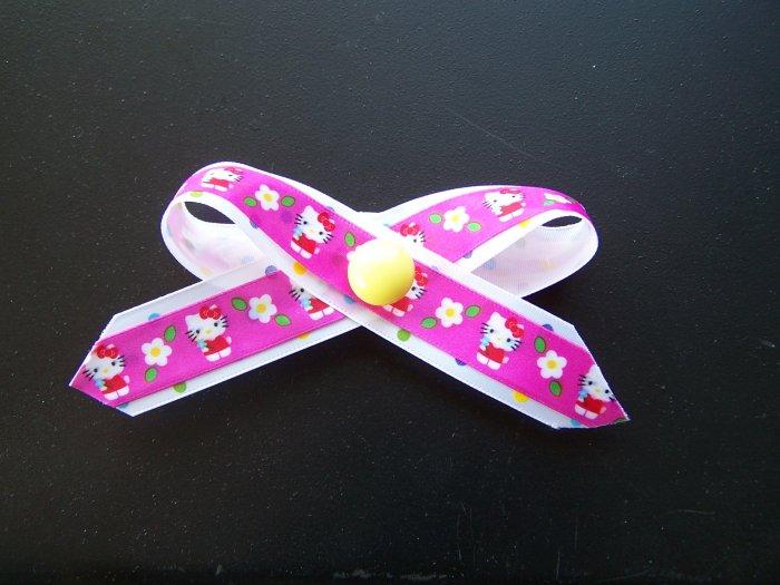 Hello Kitty hair bow.