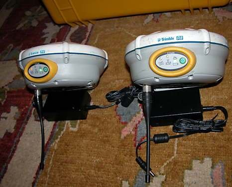 Trimble R8 GNSS Base + Trimble R8 GNSS Rover + Trimble TSC2 Data Collector