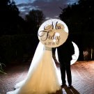 Wedding Parasol White Ivory Umbrella Wedding Photography Prop Mr Mrs Parasol Ceremony Decor