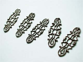 Filigree #1 (per 5 pieces)