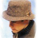 Herringbone Rim Hats 009HHB