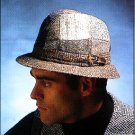 Patchwork Rim Hat 009HP